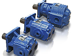 BRT and BRE  gear Pumps hydraulics Fher
